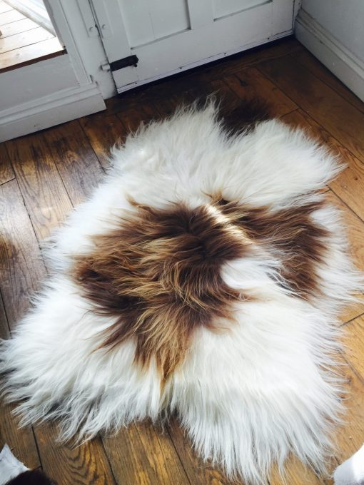 100% real Icelandic sheepskin rug or throw
