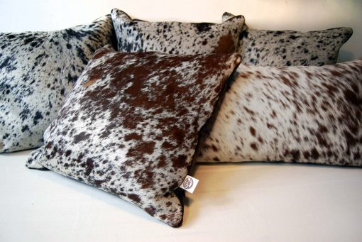 Cowhide Scatter Cushions