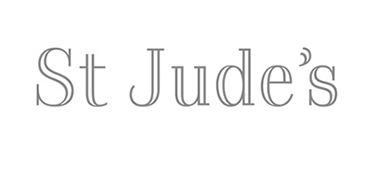St Jude's fabric design logo